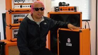 Orange Crush Bass - first impressions from Sergio Vega (Deftones/Quicksand)