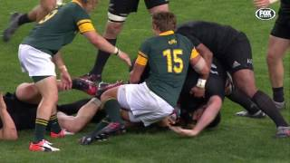South Africa v New Zealand Rd.6 2016 Rugby Championship | Rugby Championship Video Highlights