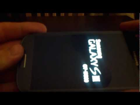 comment demarrer samsung galaxy s3