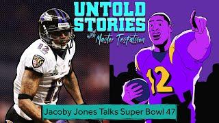 Jacoby Jones Talks Ravens' Super Bowl Run | Untold Stories