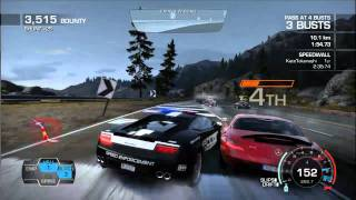 Need For Speed Hot Pursuit  Run to the Hills  Lamborghini Ga...