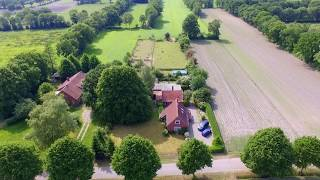 Video compilation June 5th 2017 Here lives a Dutch family in Germany. - DJI Phantom 3 Standard - Kdenlive @ Linux.