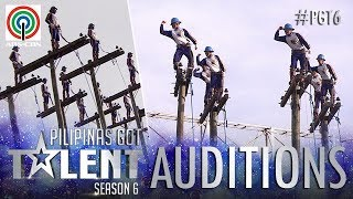 Video Pilipinas Got Talent 2018 Auditions: Cebeco II Blue Knights - Pole Balancing MP3, 3GP, MP4, WEBM, AVI, FLV Juli 2018