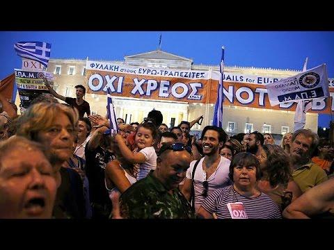 Συλλαλητήριο στο Σύνταγμα υπέρ του «Όχι» στο δημοψήφισμα