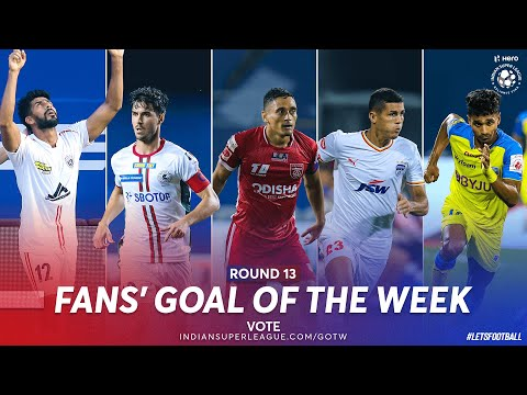 Fans' Goal of the Week - Nominees Round 13 | Hero ISL 2020-21