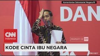 Video Kode Cinta Ibu Negara ke Presiden Jokowi MP3, 3GP, MP4, WEBM, AVI, FLV Februari 2018