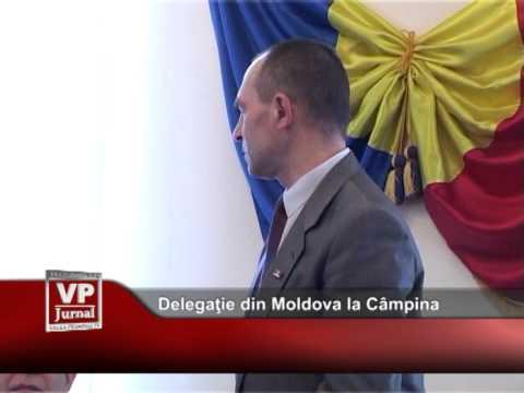 Delegaţie din Republica Moldova la Câmpina