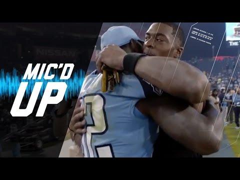 Allen Robinson & Delanie Walker Mic'd Up (Week 8) | Sound FX | NFL Films