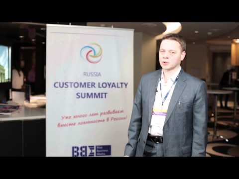Владимир Смоляков, Danfoss, на V Russia Customer Loyalty Summit