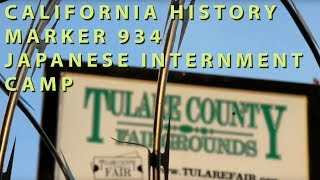 Tulare (CA) United States  City pictures : California Historic Marker No. 934, Tulare Assembly Center