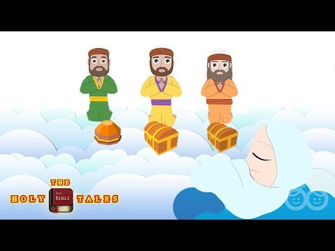 Three Wise Men I Christmas Stories I Animated Children's Bible Stories | Holy Tales Bible Stories