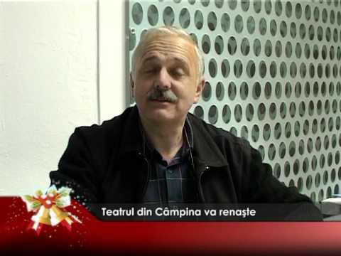 Teatrul din Câmpina va renaşte