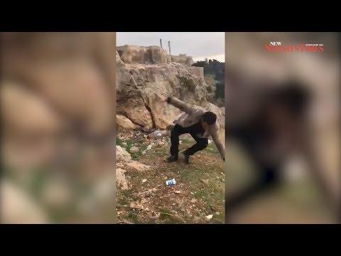 العرب اليوم - شاهد: تركي يفقد حياته بسبب