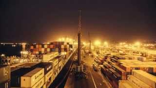 Time Lapse Sogester: Terminal de Carga do Porto de Luanda