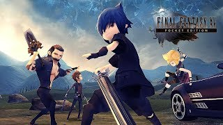 ►► Select 1080p HD for Best Quality ◄◄Releasing in Fall 2017, with a cute art style that will appeal to mobile and existing players alike.Experience an exciting addition to the Final Fantasy XV Universe in the form of an all-new mobile adventure for iOS, Android devices, which retells the story of Final Fantasy XV like never before using casual touch controls optimised for mobile devices.Final Fantasy XV: Pocket Edition contains all of the main characters and main story of the console and PC versions, with the freedom to play whenever and wherever you want.All 10 episodes will be available from Day 1 and the first episode will be available for free when Final Fantasy XV: Pocket Edition releases later this year.Twitter: http://www.twitter.com/rajmangaminghdFaceBook: http://www.facebook.com/rajmangaminghdBusiness Enquiries: rajmangaminghd@fastmail.com