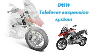 8. Working of The Telelever Suspension In BMW R1200GS.