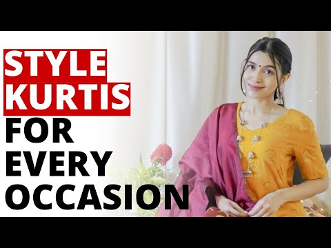 Styling Kurti Outfits for EVERY Occasion! Kurti Outfit Ideas