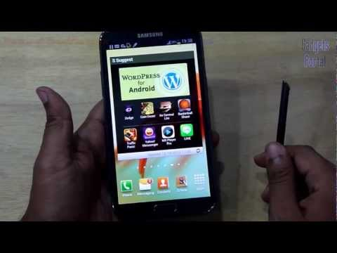 Samsung GALAXY NOTE 2 II TIPS and TRICKS, HELPS : Part 3, Review by GADGETS PORTAL