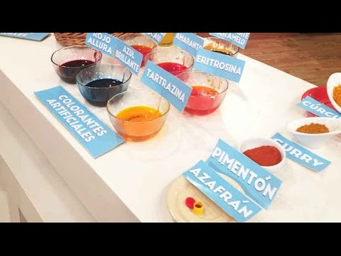 Peligro, colorantes en los alimentos por Soledad Barruti periodista