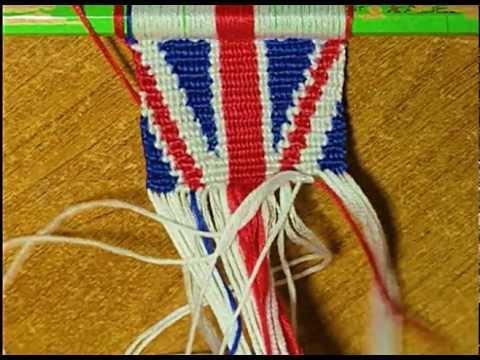 Фенечка Британский флаг