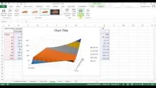 Microsoft Excel 2013 pt 10 (Conditional format, Sparklines, other Charts)