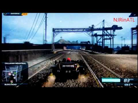 How To Get On the Secret Railroad - Need For Speed Most Wanted (2012)