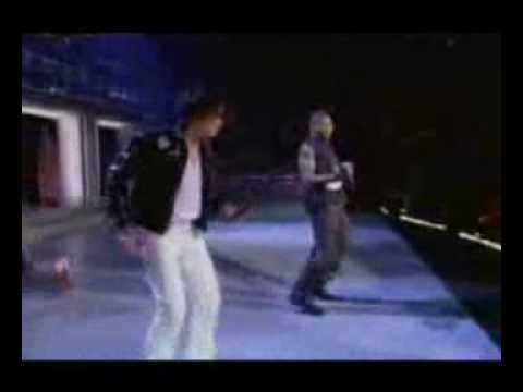 Usher Vs. Michael Jackson - Robot Dance Moves