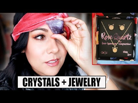 MY CRYSTAL COLLECTION + I launched a jewelry line!