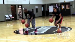 Skylar Diggins Workout - Dribbling Drills