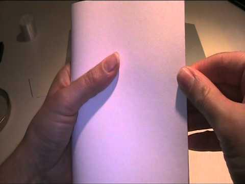 Teil 1 Glückwunschkarte mit Taube basteln - Bastelvideo