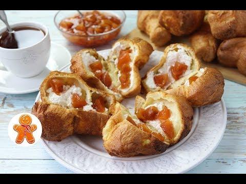 Булочки с Начинкой к Завтраку ✧ Поповеры ✧ Popovers (видео)