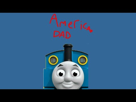 Thomas the tank engine references in American dad