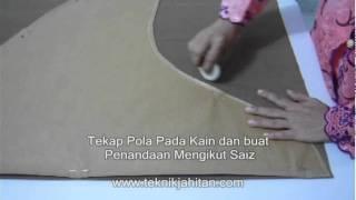 Video Tudung   Jahit Tudung   www.teknikjahitan.com MP3, 3GP, MP4, WEBM, AVI, FLV Desember 2018