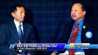 Suab Hmong TalkShow:  Nhia Vang, Vice Pres. of Hmong Development Foundation, Inc.