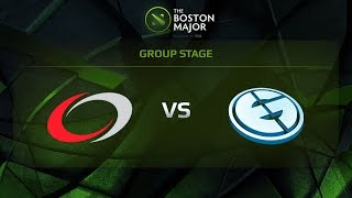 coL vs EG, Game 3, Group D - The Boston Major