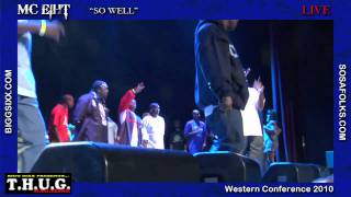 "MC Eiht ""So Well""   Live"