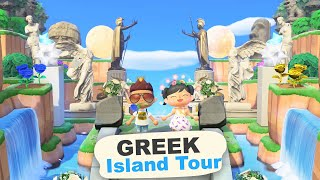 GREEK 5 Star Island Tour (900 Hours) in Animal Crossing New Horizons by iHasCupquake