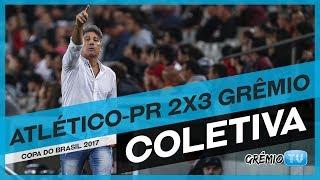 Confira a coletiva do técnico Renato Portaluppi, após a partida contra o Atlético-PR em Curitiba. Imagens e Edição: Juares...