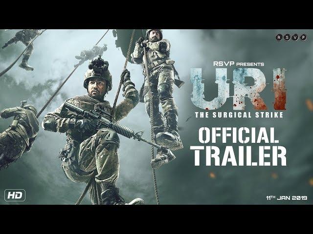 સર્જિકલ સ્ટ્રાઈક પરની ફિલ્મ 'ઉરી'નું ટ્રેલર તમારામાં રાષ્ટ્રભક્તિ જગાડશે