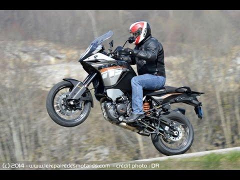 ✪ -18 ✪ KTM 1190 Adventure 150cv Top Speed and Power ✪