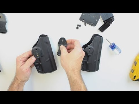 How To Adjust & Convert Clinger Holsters