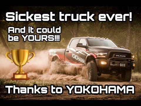 WIN this custom Yokohama truck