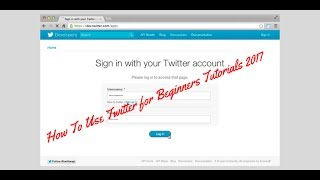 How To Use Twitter for Beginners Tutorials 2017 - Rakesh Tech Solutions