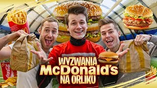 Video WYZWANIA MCDONALD'S NA ORLIKU! MP3, 3GP, MP4, WEBM, AVI, FLV September 2019