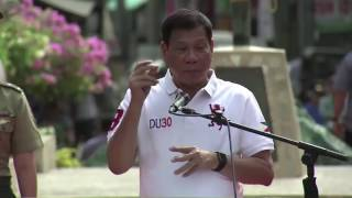 Duterte issues warning to Cabinet members seeking elective posts