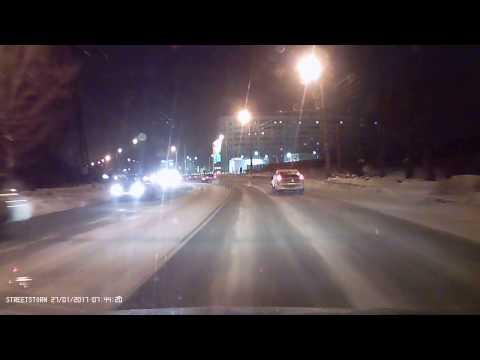 Массовая авария в Челябинске