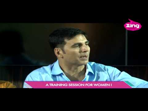 Akshay Kumar at self defence workshop