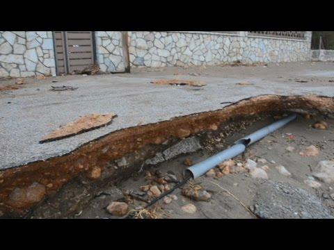 Mεγάλες ζημιές από τους ισχυρούς ανέμους στην Αργολίδα