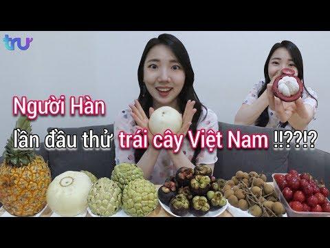 Phản ứng của người Hàn khi thử ăn trái cây Việt Nam!??!?!? - Thời lượng: 11:46.