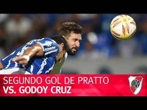 Segundo gol de Lucas Pratto vs. Godoy Cruz